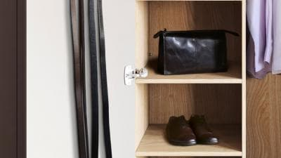 Belt and scarf rack