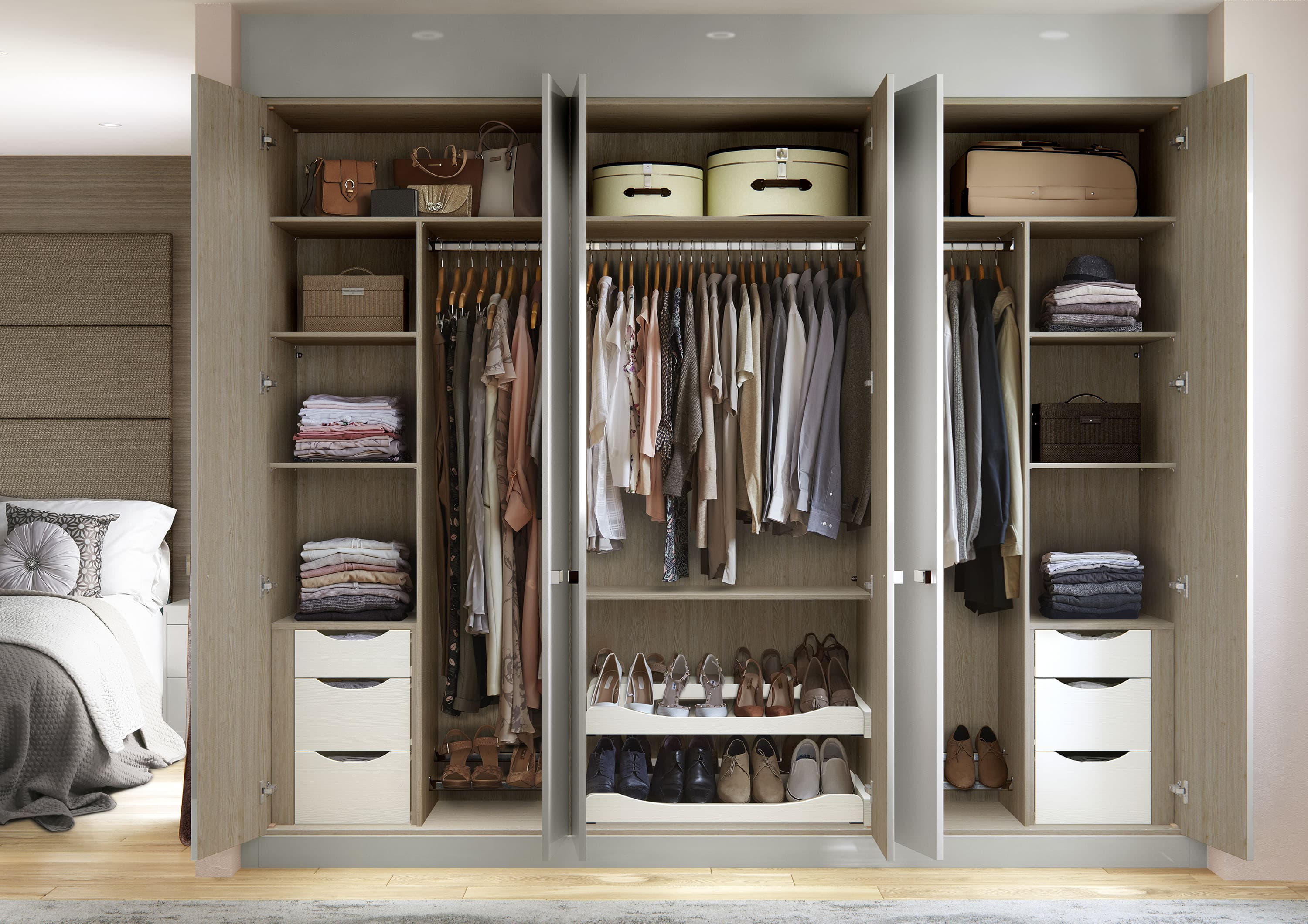 Over Bed Storage Wardrobes And Bedroom Furniture Hammonds
