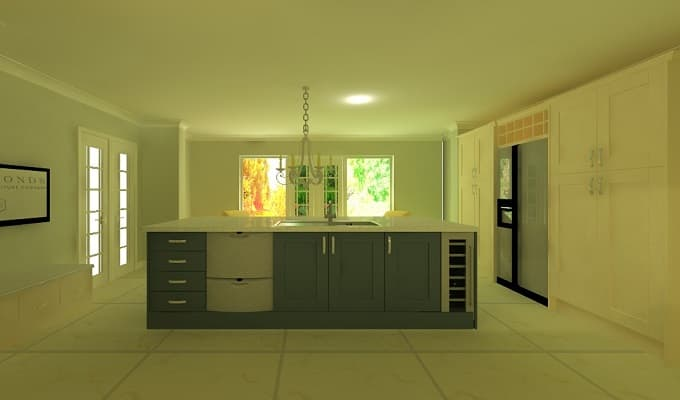 A Hammonds designed kitchen