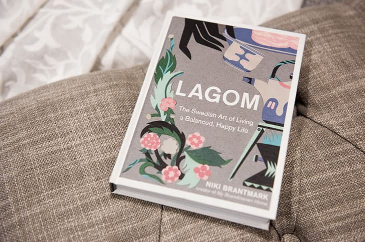 An image of the Lagom book by Niki Brantmark