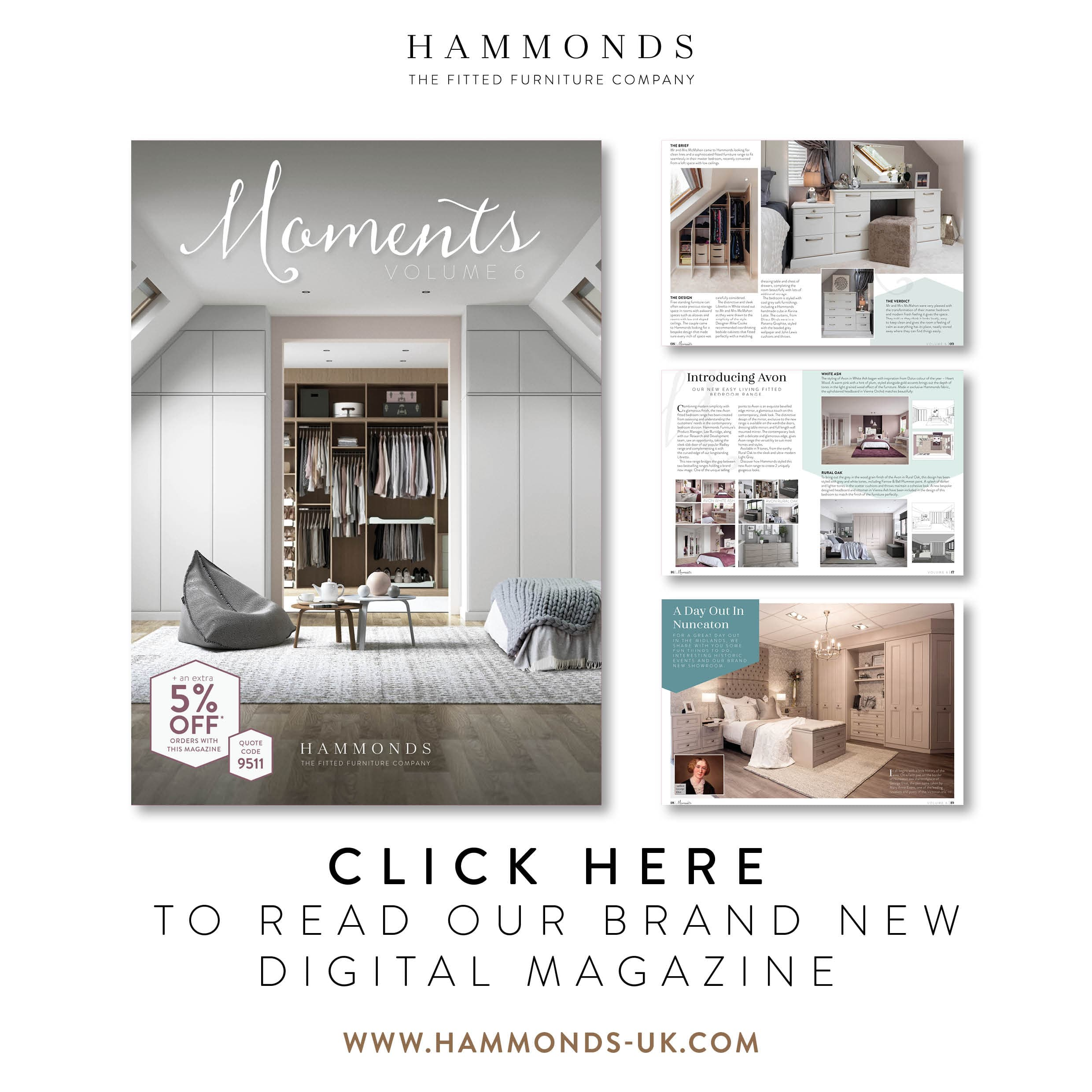 Click here to read our Moments magazine