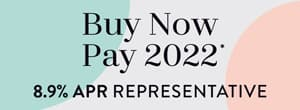 Buy Now Pay 2022 8.9% APR Representative