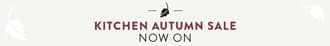 Kitchen Autumn Sale now on. 25% off selected finishes.