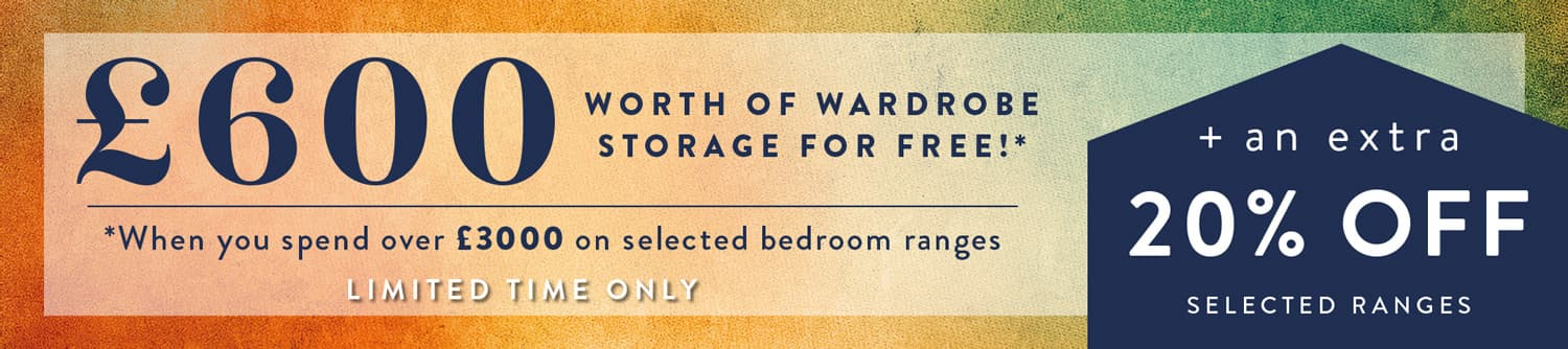 Save with Hammonds bedroom offer