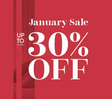 Fitted Wardrobes January Sale Up to 30% off Banner