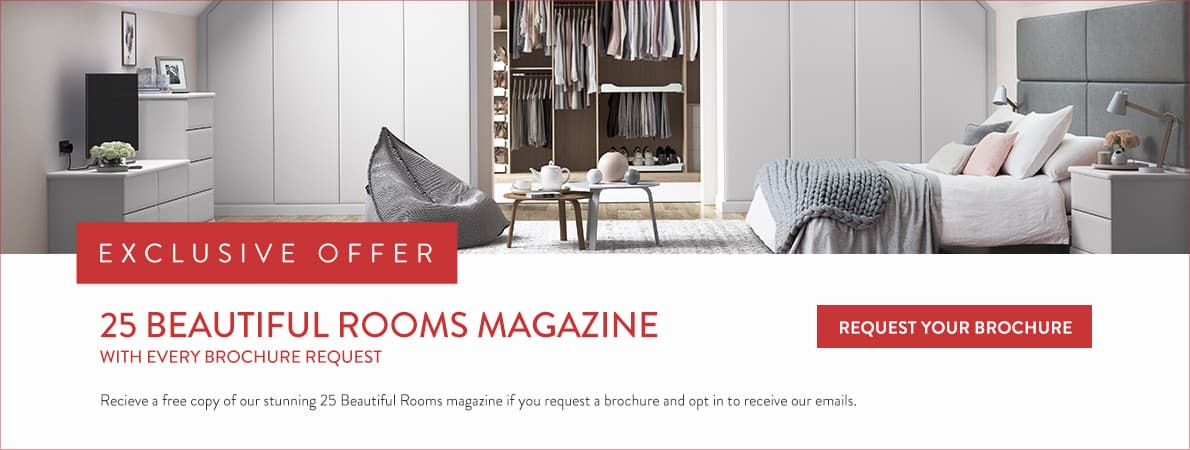 Fitted Wardrobes Pre-January Sale Which has Extra % Discounts - Sign Up Now by Requesting a Brochure