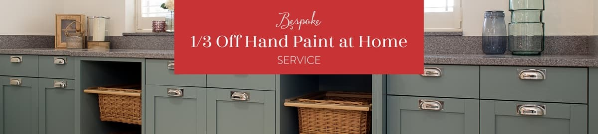 Paints and finishes header panel