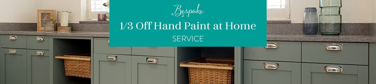 Bespoke Service. Third off hand paint at home