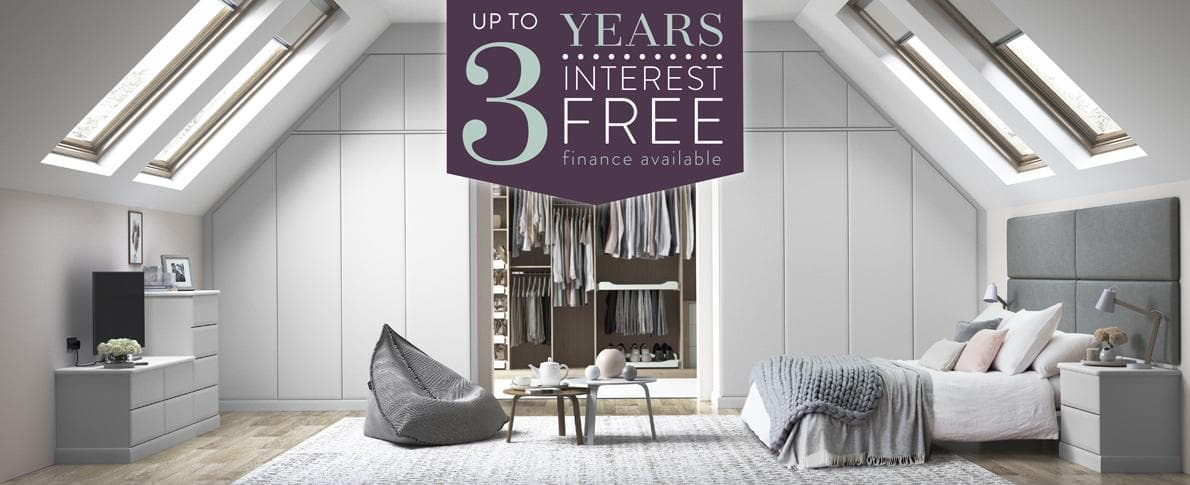 Interest free credit with fitted furniture