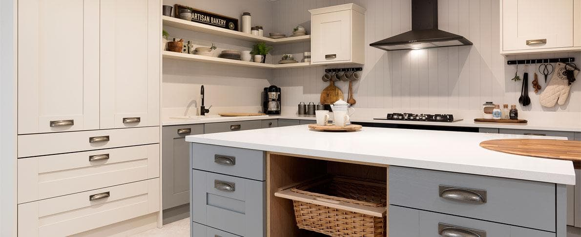 L Shaped Kitchen Design And Ideas Hammonds