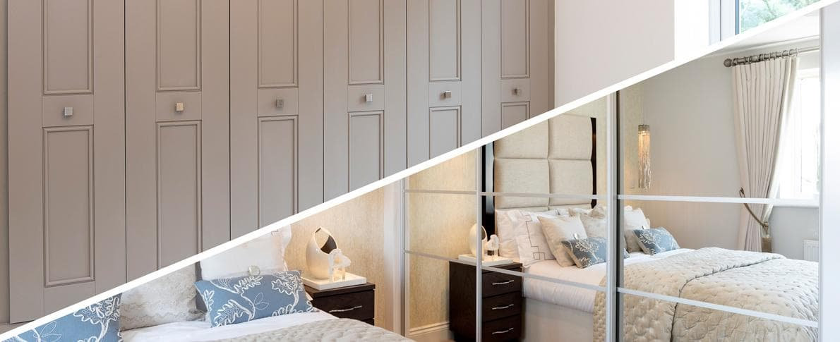 What's your style? Hinged or sliding wardrobes