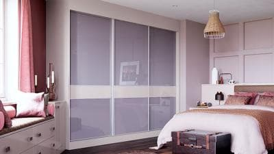 Hammonds sliding wardrobdes in high gloss