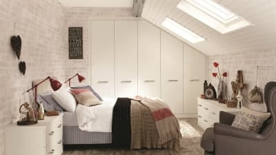 Radley White Matt Comtemporary Bedroom