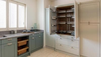 hammonds double tandem larder storage solution