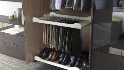 Hammonds pull out trouser rack