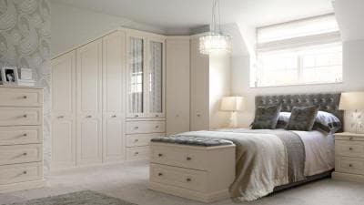 hammonds fitted wardrobes fitted in awkward space