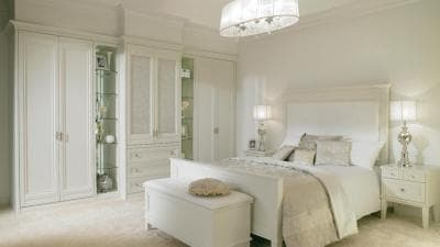 hammonds palladian bedroom in white