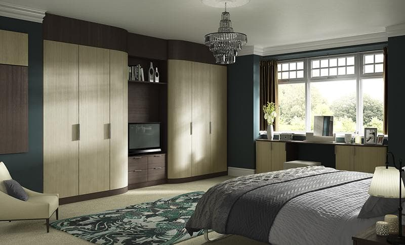 Hammonds vigo curve sliding wardrobes