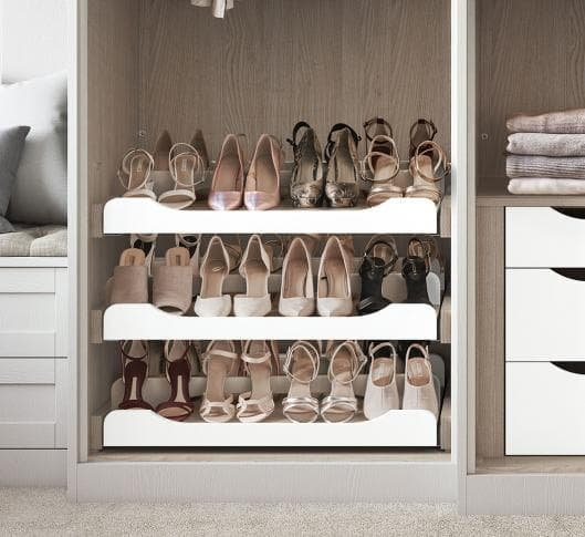 Fitted Wardrobe Shoe Rack