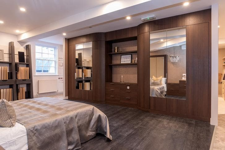 Macclesfield Store bedroom display