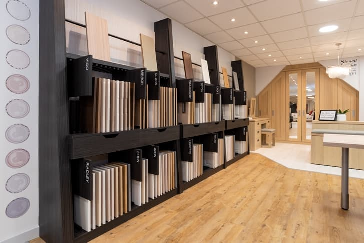 Image of Range Panels at Park Furnishers Store in Bristol