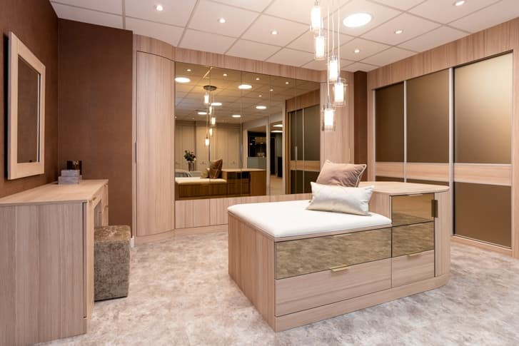 Sliding wardrobes at Park Furnishers Store in Bristol