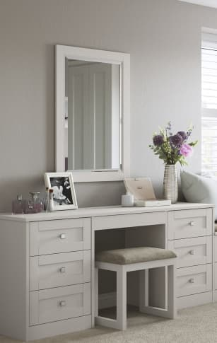 dressing table croft mounted mirror