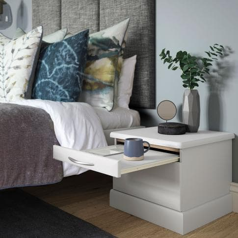 Hammonds Libretto bedside table in light grey