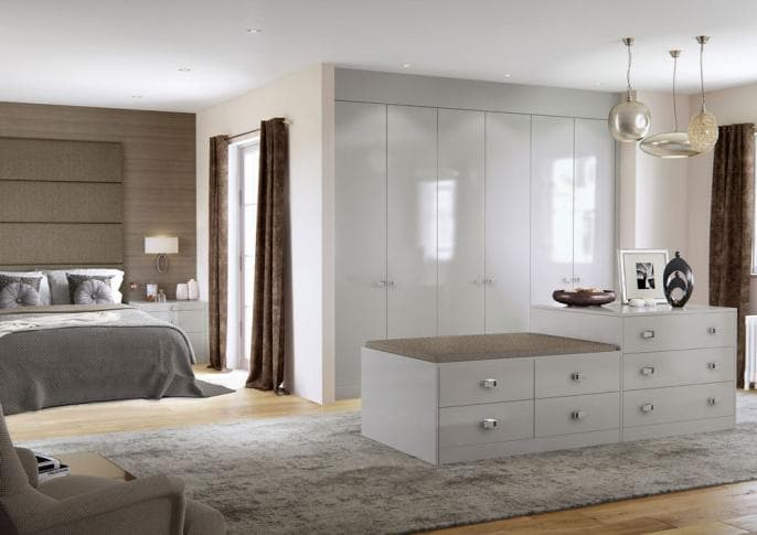 Hammonds Elkin cashmere sliding wardrobes