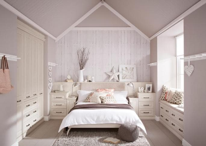 Willesley wardrobes in avola white