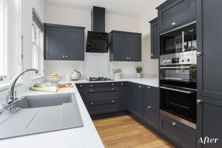 Fitted Croft Kitchen Transformation After