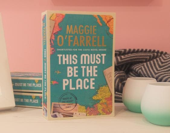 This must be the place book image by Maggie O'Farrell