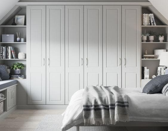 Blog Rialto Light Grey Fitted Wardrobe Header Image
