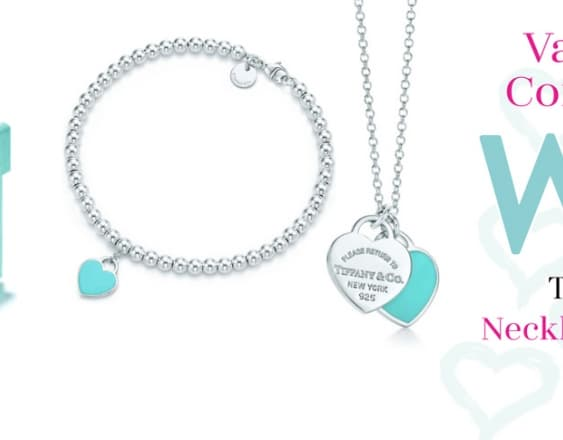 Valentine's Competition Win Tiffany & Co. Necklace and Bracelet