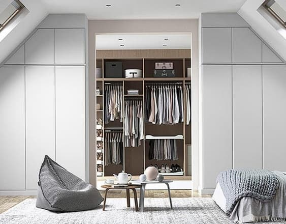 Avon fitted wardrobes in room