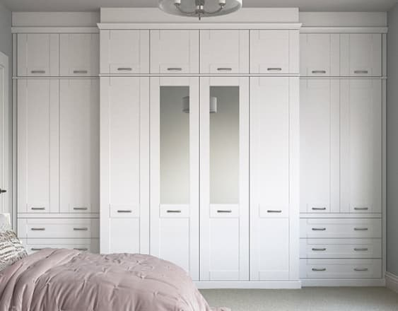 White Seton Bedroom