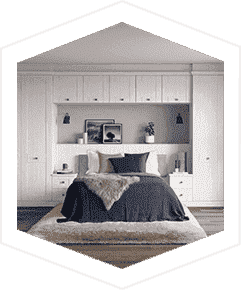 An image of the Hammonds Fitted Bedroom range Seton